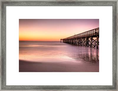 Calm Seas Framed Print by Walt  Baker
