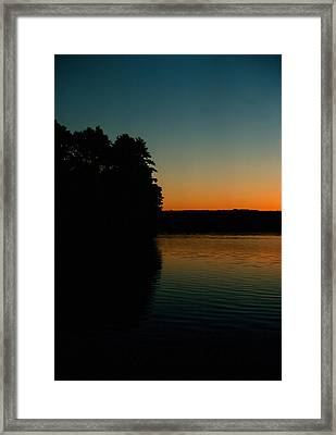 Calm Sunrise Framed Print by Ben Kotyuk