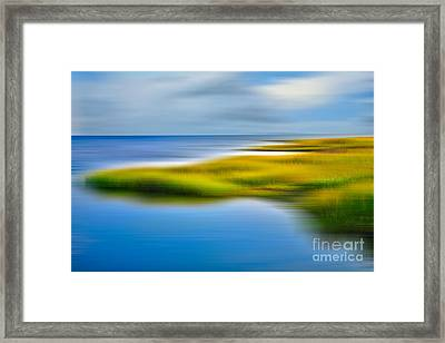 Calm Waters - A Tranquil Moments Landscape Framed Print by Dan Carmichael