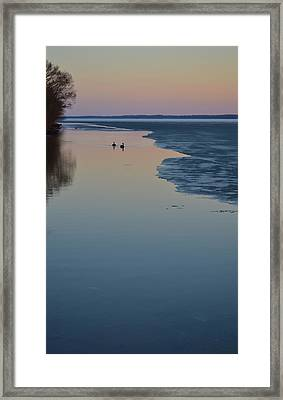Calmness  Framed Print by Lyle Crump