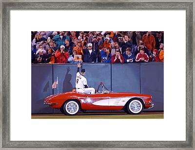Cal's 2131 Corvette Ride Framed Print by Jonathan W Brown