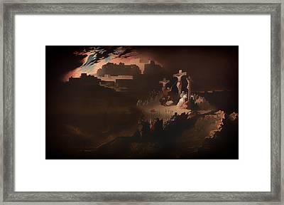 Calvary Framed Print by Mountain Dreams