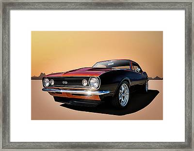 Camaro Ss Framed Print by Douglas Pittman