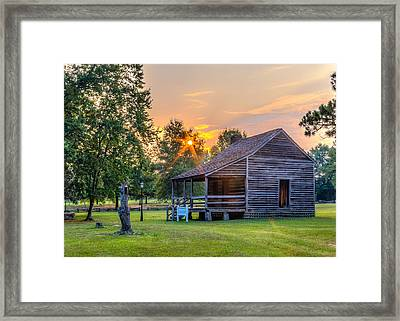 Camden Sunset Framed Print by Rob Sellers