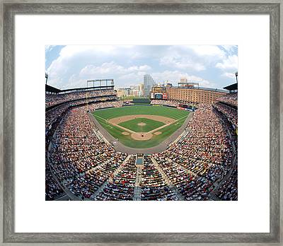 Camden Yards Baltimore Md Framed Print by Panoramic Images