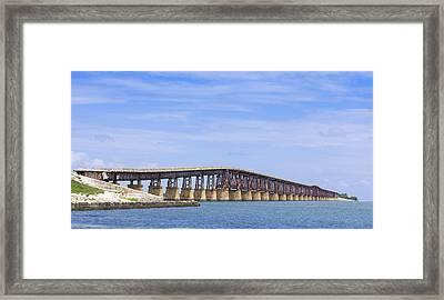 Camelback Bridge Framed Print by John Bailey