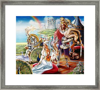 Camelot Framed Print by Adrian Chersterman