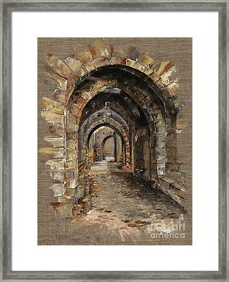 Camelot -  The Way To Ancient Times - Elena Yakubovich Framed Print by Elena Yakubovich