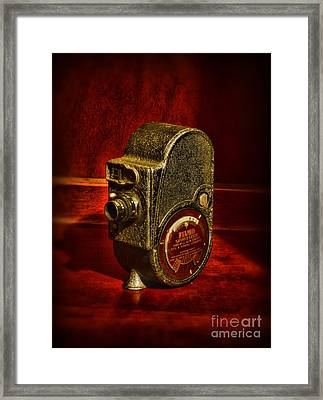 Camera - Bell And Howell Film Camera Framed Print by Paul Ward