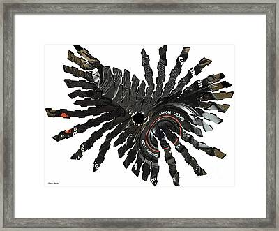 Camera Bug Framed Print by Cheryl Young