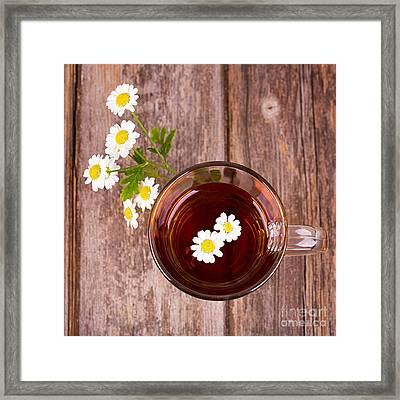 Camomile Tea Framed Print by Jane Rix