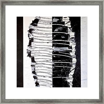 Camouflage Framed Print by Rob Van Heertum