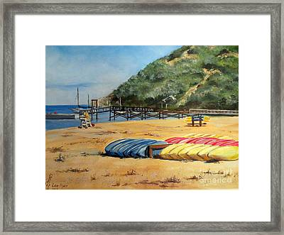 Camp Del Corazon  Framed Print by Lee Piper