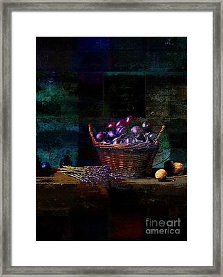 Campagnard - Rustic Still Life - S02bd Framed Print by Variance Collections