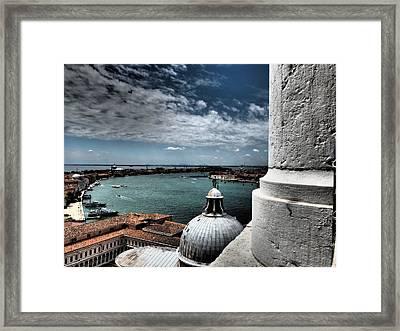 Campanile Framed Print by Giorgio Lumaconi