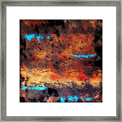 Campfire Creek Framed Print by Holly Anderson