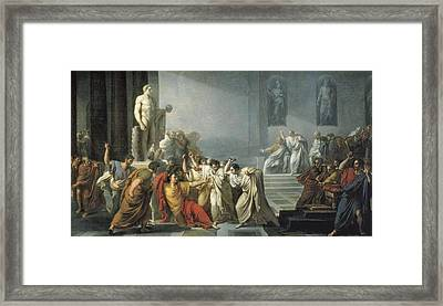 Camuccini, Vincenzo 1771-1844. The Framed Print by Everett