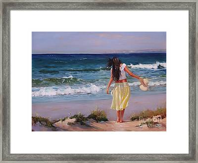 Can You Imagine Framed Print by Laura Lee Zanghetti