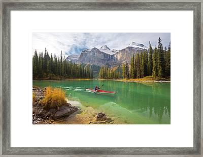 Canada, Alberta, Jasper National Park Framed Print by Gary Luhm