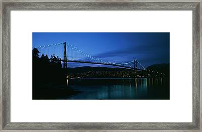 Canada, British Columbia, Vancouver Framed Print by Paul Souders