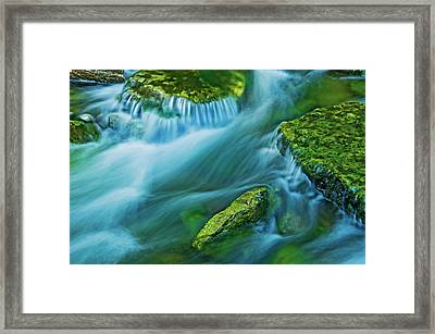 Canada, Ontario Kagawong River Scenic Framed Print by Jaynes Gallery