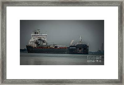 Canadian Enterprise Framed Print by Ronald Grogan