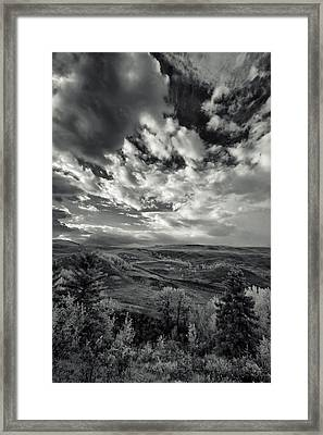Canadian Foothills Framed Print by Heather Simonds
