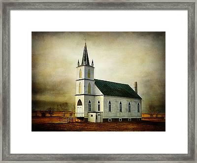 Canadian Prairie Heritage Framed Print by Blair Wainman