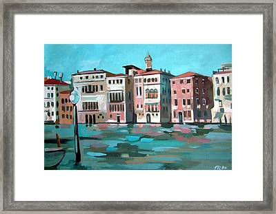 Canal Grande Framed Print by Filip Mihail