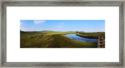 Canal Framed Print by Riley Handforth