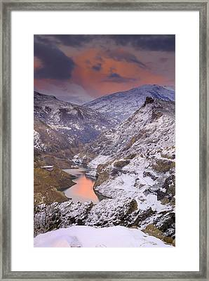 Canales Framed Print by Guido Montanes Castillo