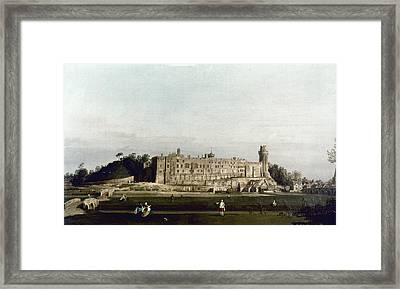 Canaletto Warwick Framed Print by Granger