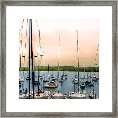 Canandaigua Lake Framed Print by Ken Marsh