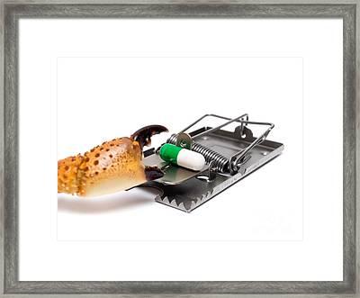 Cancer Risk Framed Print by Sinisa Botas