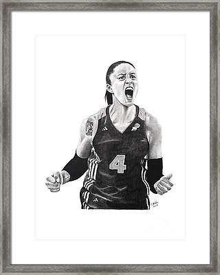 Candice Dupree Passion Framed Print by Devin Millington