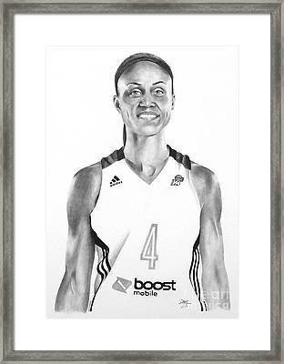 Candice Dupree Pree Framed Print by Devin Millington