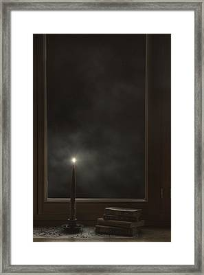 Candle Light Framed Print by Joana Kruse