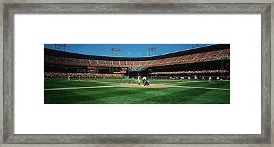 Candlestick Park San Francisco Ca Framed Print by Panoramic Images