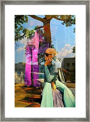 Candy Coated Framed Print by Diana Angstadt