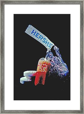 Candy Framed Print by Mike Flynn