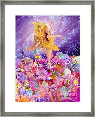 Candy Sugarplum Fairy Framed Print by Alixandra Mullins