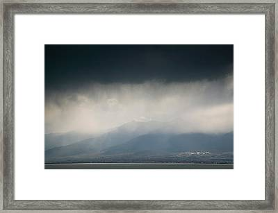 Cangshan Mountains And Western Shore Framed Print by Panoramic Images