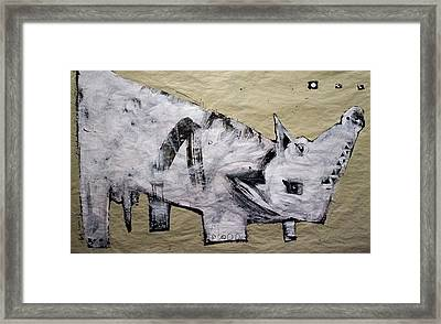Canis Et Sidera Framed Print by Mark M  Mellon