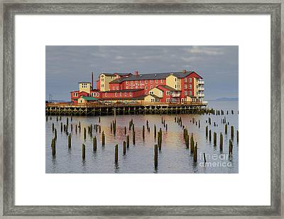 Cannery Pier Hotel Framed Print by Mark Kiver