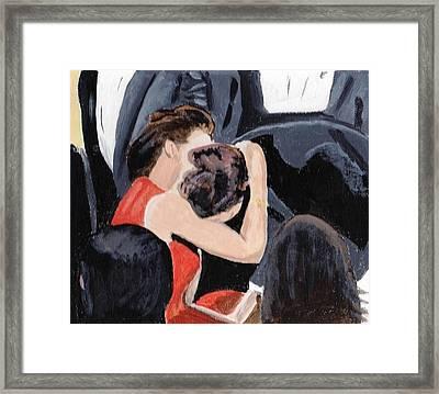 Cannes Framed Print by Audrey Pollitt