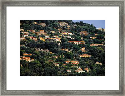 Cannes - Life Which Everybody Dreams Of Living Framed Print by Christine Till