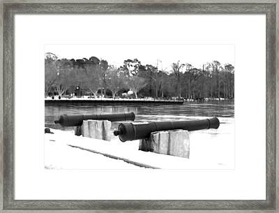 Canons Framed Print by Carolyn Ricks