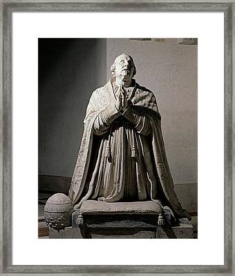 Canova Antonio, Pius Vi Praying, 1817 Framed Print by Everett
