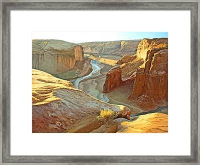 Canyon De Chelly Framed Print by Paul Krapf