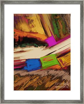 Canyon Framed Print by Keith Mills